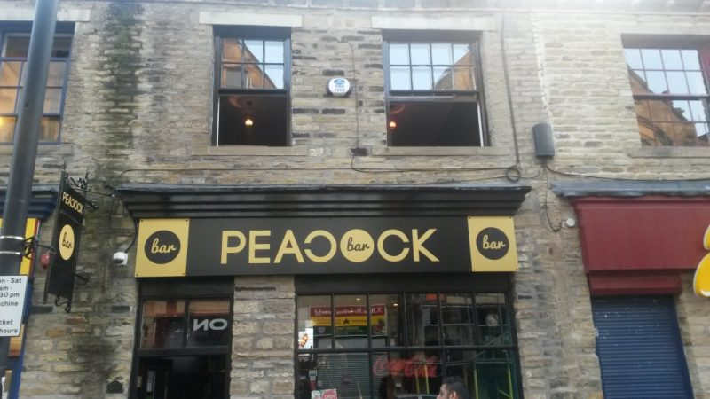 The Peacock Bars in Bradford