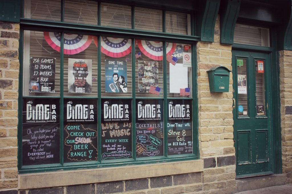 als dime bar in bradford