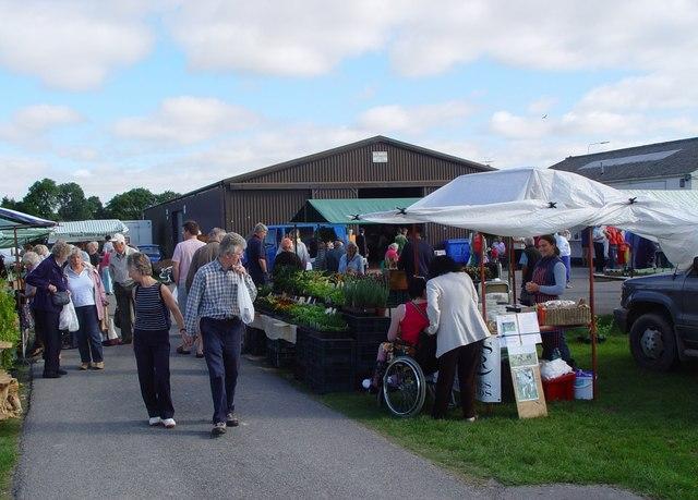 Driffield Farmers Market in Yorkshire