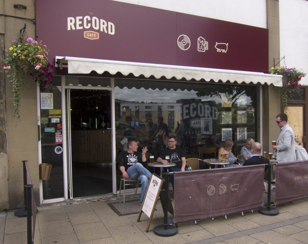 The Record Cafe Bar In Bradford