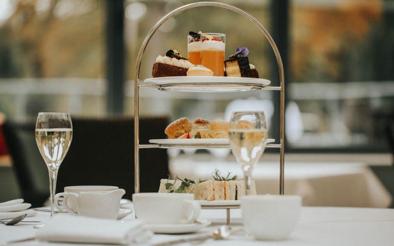 Afternoon tea at raithwaite estate