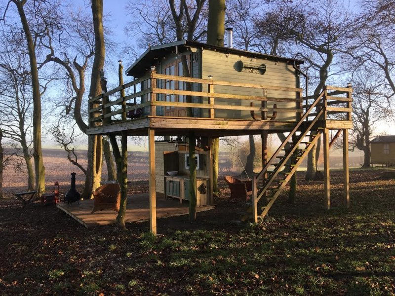 unusual places to stay in yorkshire