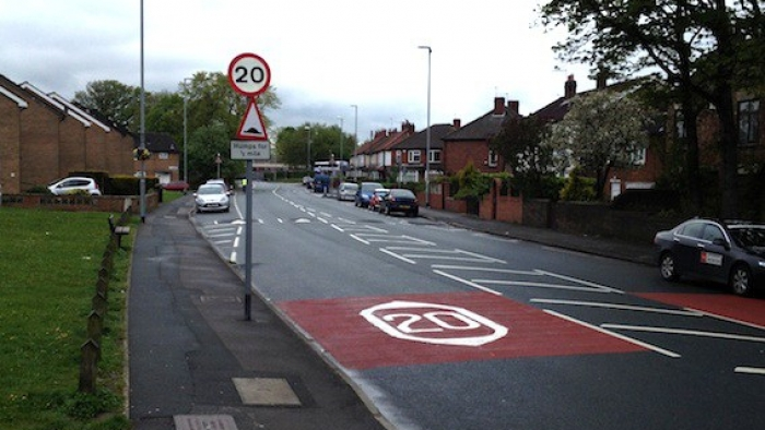 Leeds 20 mph zone