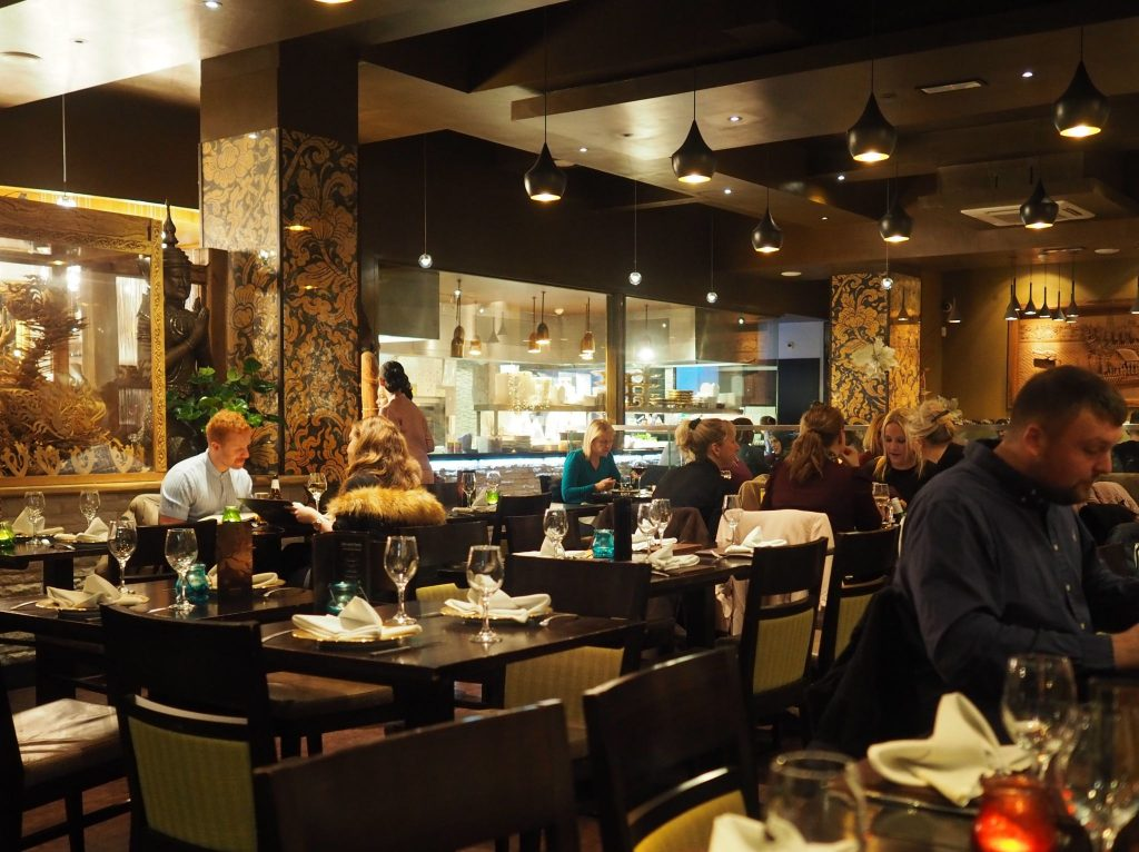 Sukhothai Restaurant in Leeds