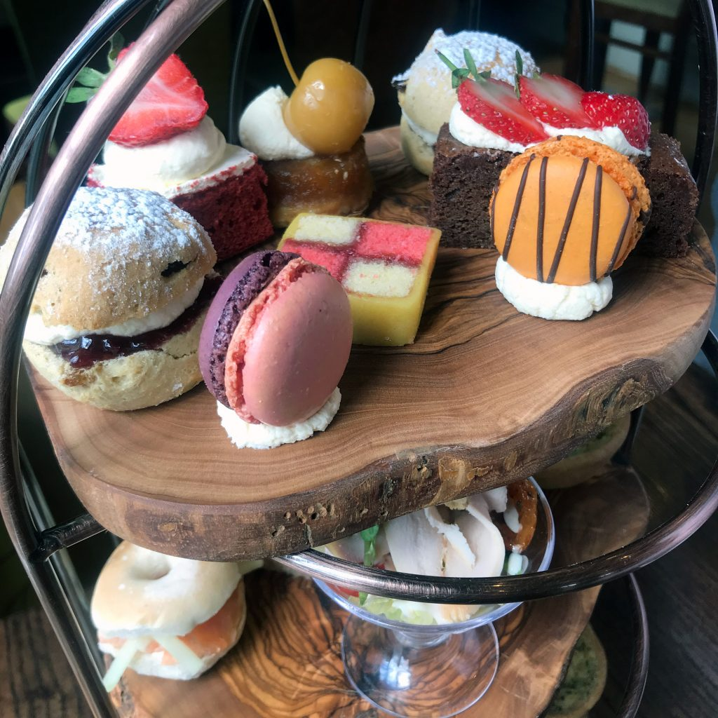 Afternoon tea at the mansion