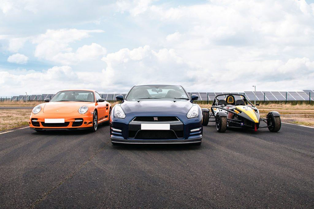 Triple Super Car Experience in Yorkshire
