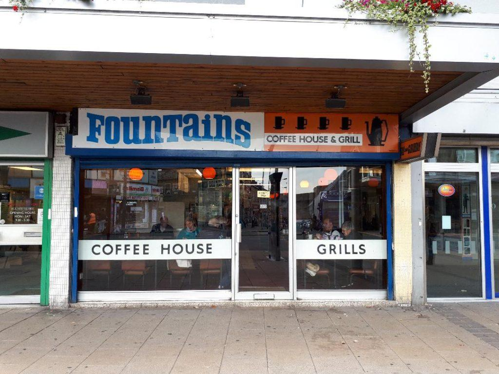 Fountains Cafe in Bradford