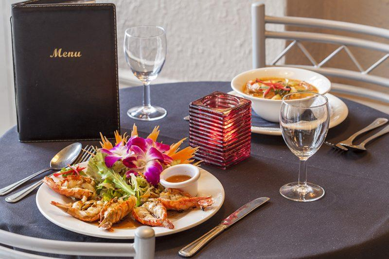 Thai Sabai beautifully presented thai cuisine