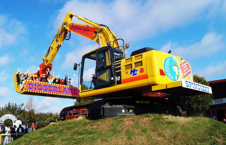 Diggerland Theme Parks in Yorkshire