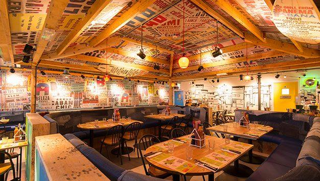 Cabana Restaurant in Leeds Trinity