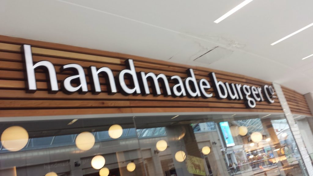 Handmade Burger Co in Leeds Trinity