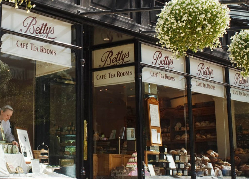 Bettys Tea Room in Ilkley