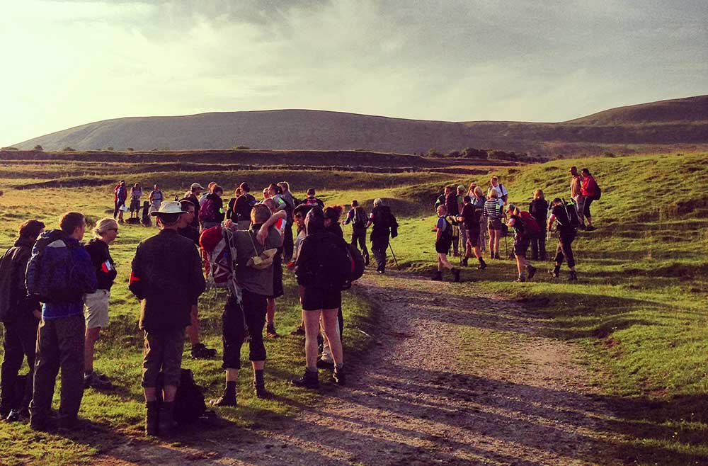 The Yorkshire three peaks walk
