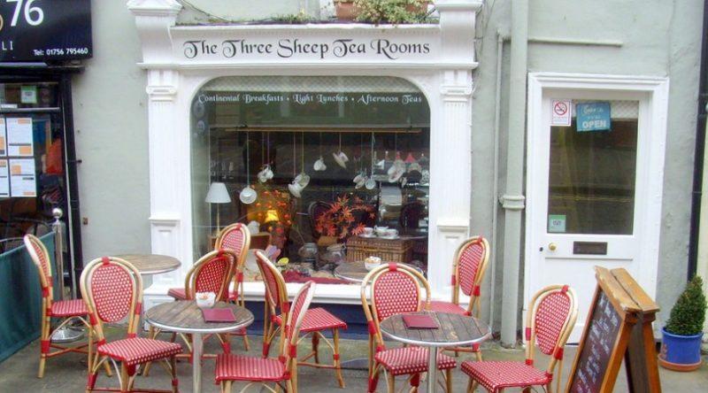 three sheap tea room skipton