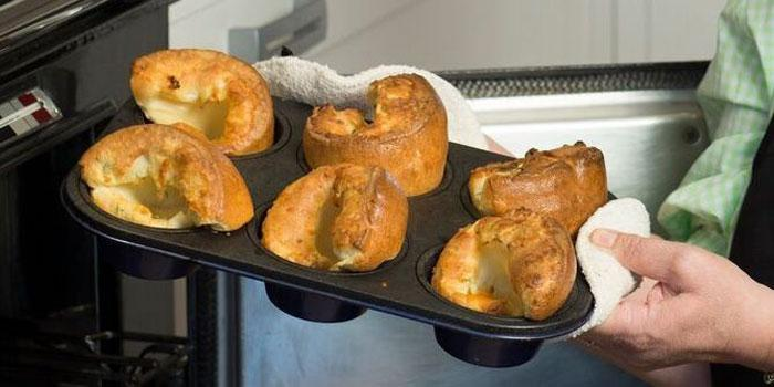 Yorkshire puddings famous in Yorkshire