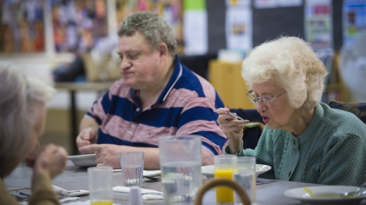 Image ©Licensed to i-Images Picture Agency. 11/10/2017. London, United Kingdom.   Tesco and Fareshare at Millman Street Resource Centre in London, UK.   Picture by Ben Stevens / i-Images