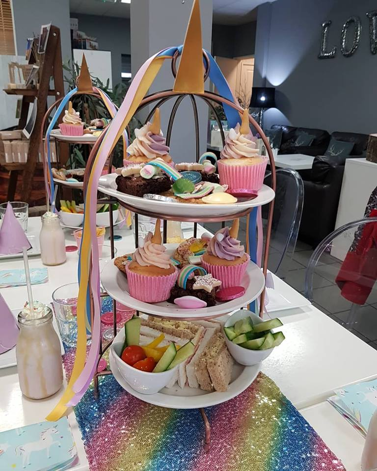 unicorn afternoon tea yorkshire