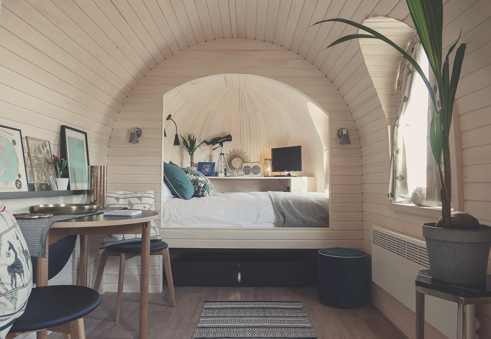 quirky accommodation in yorkshire
