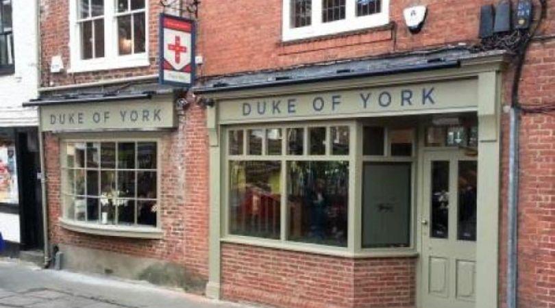 The Duke of York Pub in York