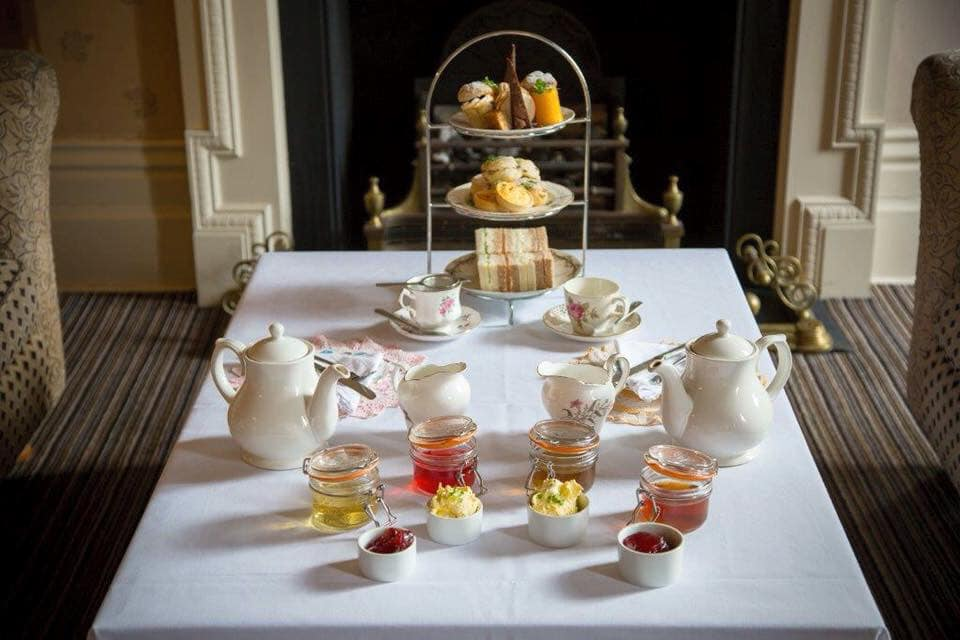 afternoon tea in Aldward Manor, york