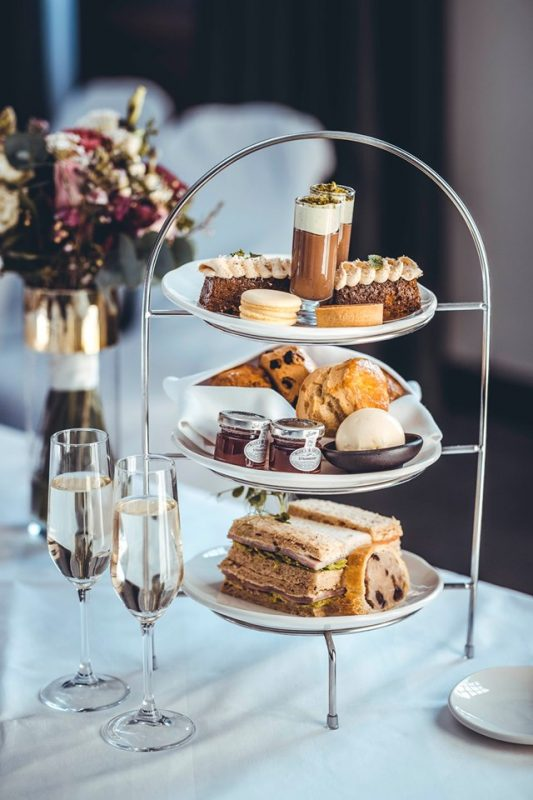 afternoon tea in the Grand hotel & Spa york