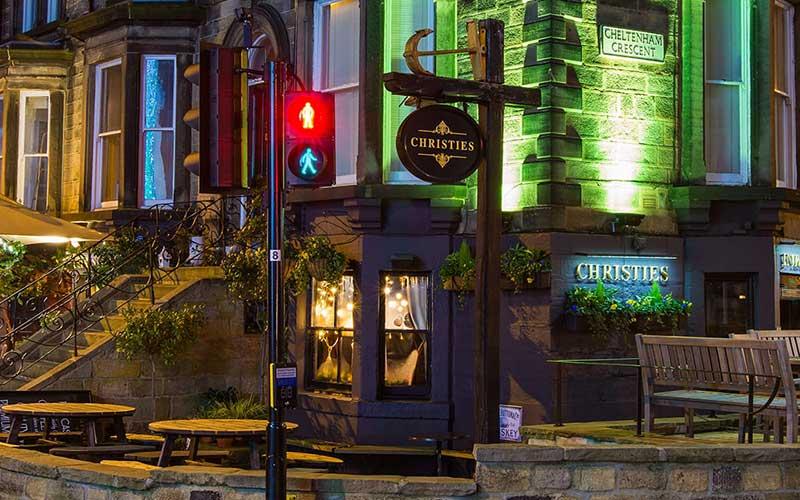 Christies Bar in Harrogate