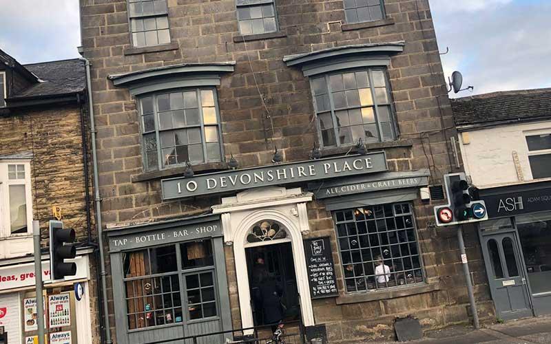 The Devonshire Place Pub in Harrogate