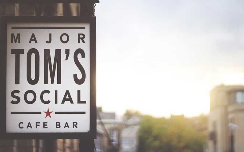 Major Toms Social in Harrogate