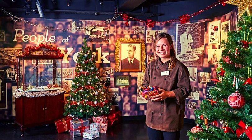 santa experience york's chocolate story