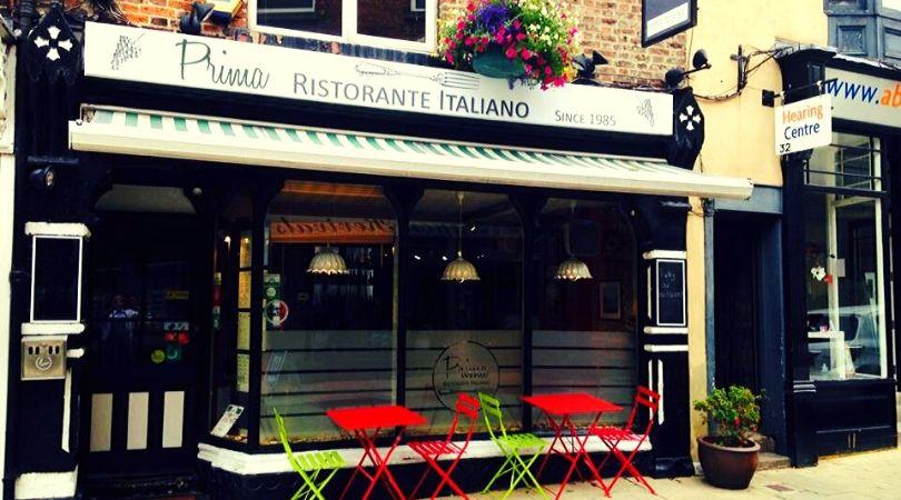 prima italian restaurant ripon