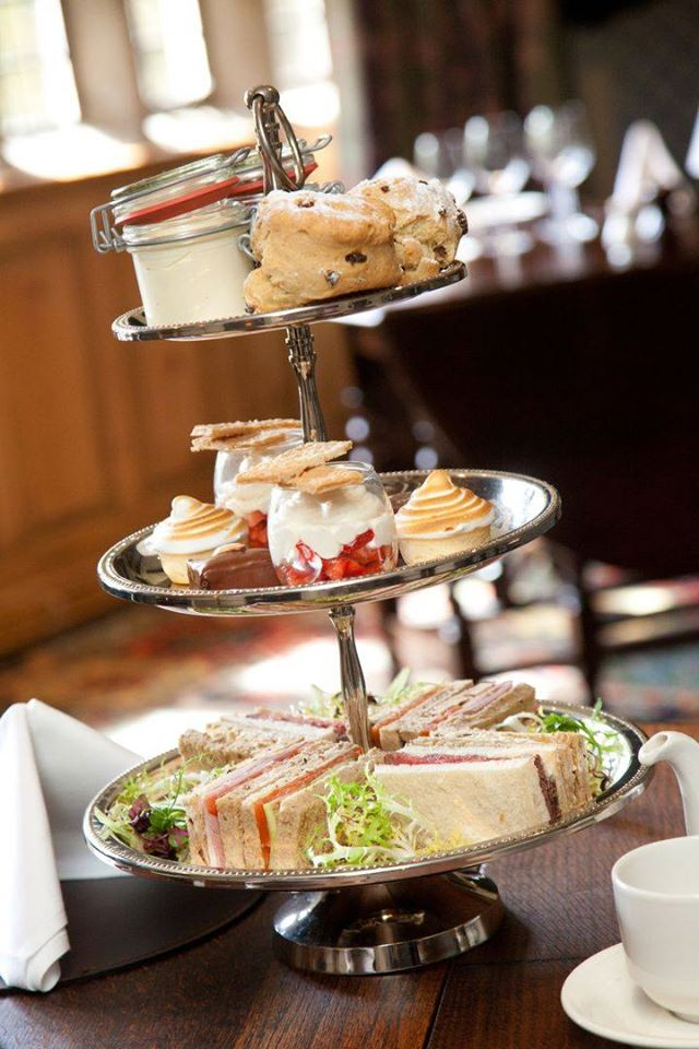 luxury afternoon tea west yorkshire
